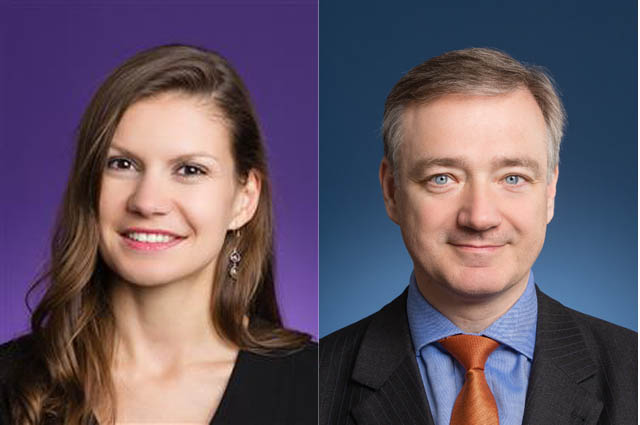 Sandra Seldte und Erik Steger