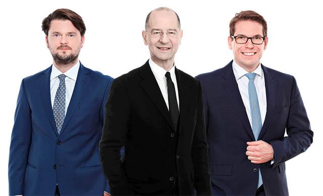 Thomas Kulnigg, Guido Kucsko und Michael Woller