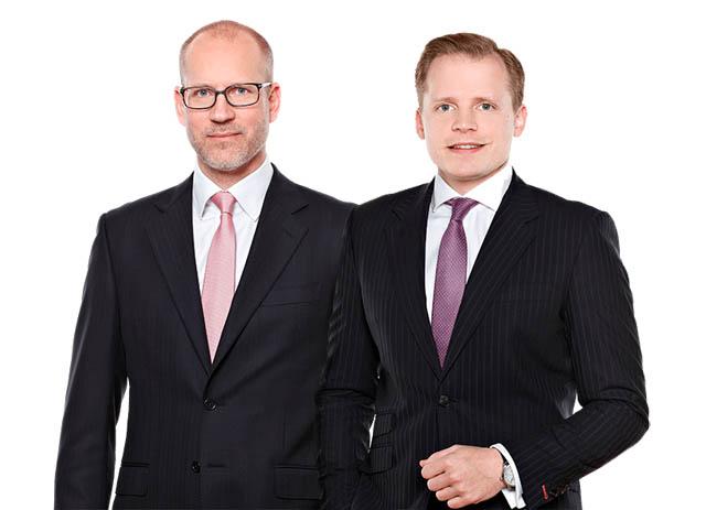 Alexander Popp und Michael Stimakovits