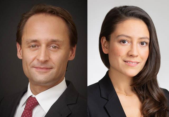 Michael Barnert und Alina Regal