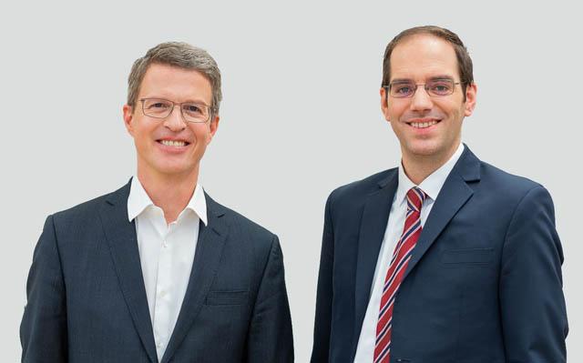 Martin Niederhuber und Peter Sander