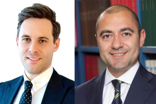 Philipp Stanek und Raffaele Petruzzi