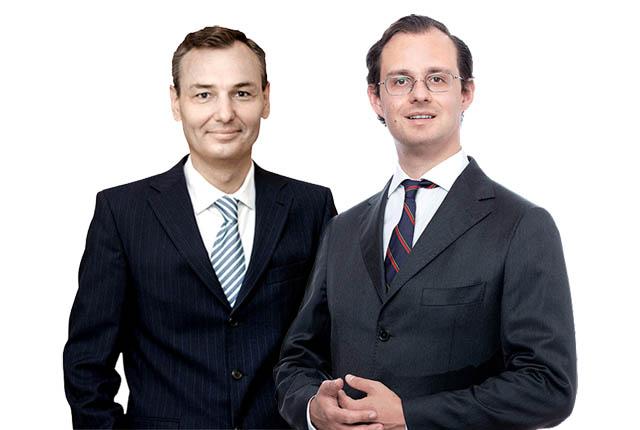 Christian Herbst und Maximilian Lang