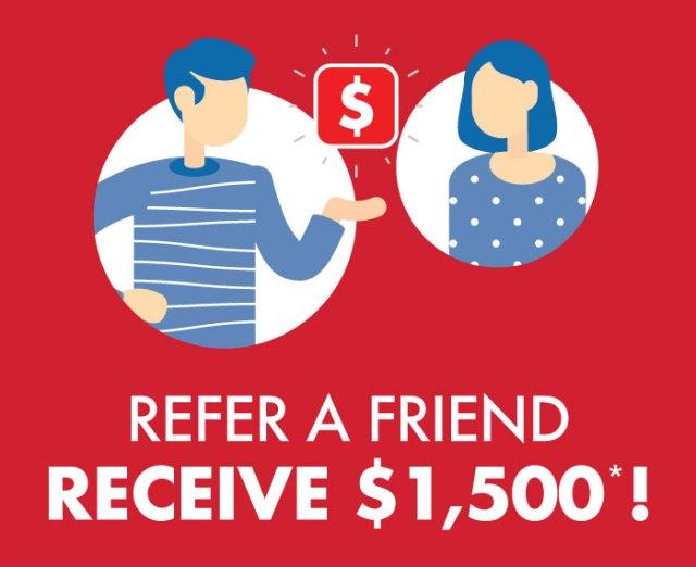 Refer a Friend Web Site