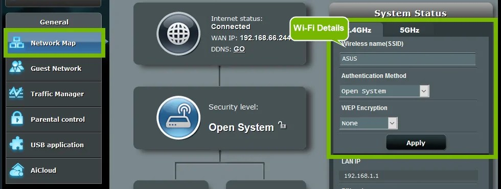 Asus Router Login: Setup and Configure your WiFi - WisAir