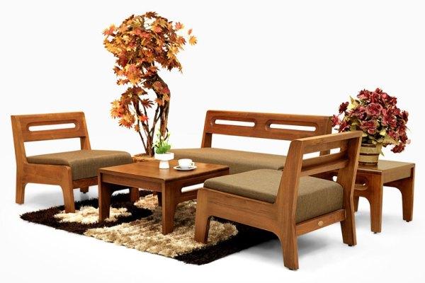 Teak wood living furniture Indonesia