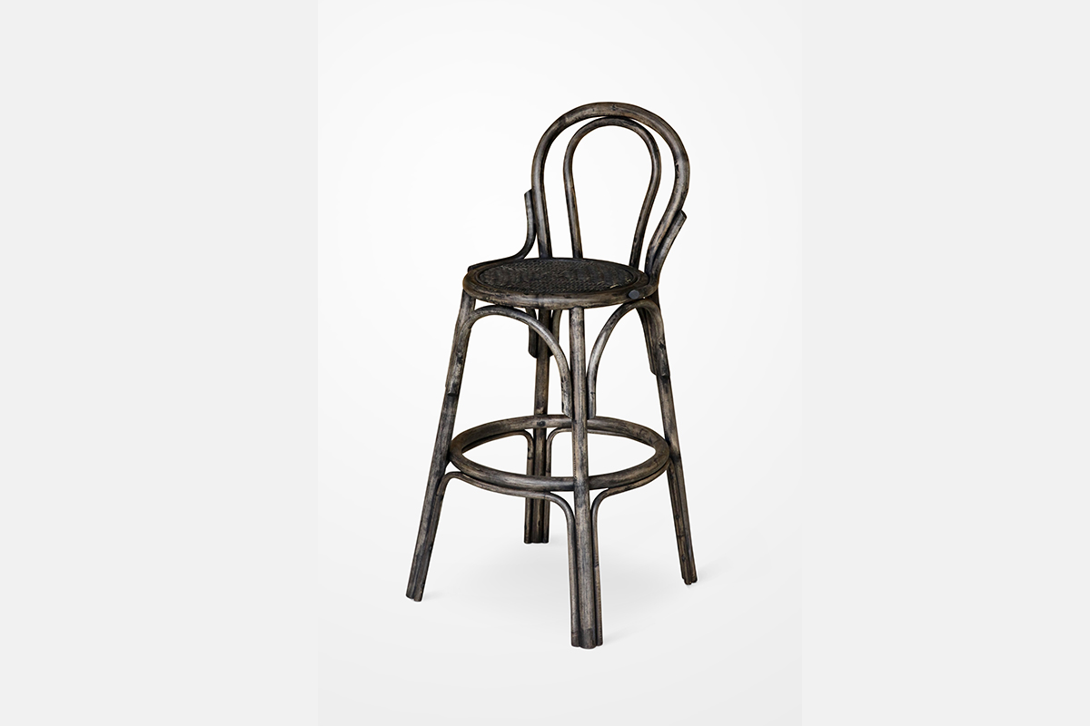 Cuffie Rattan Bar Stool Indonesia Teak Java Furniture Manufacturer Project And Wholesale