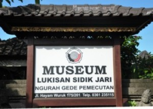 museum sidik jariBali