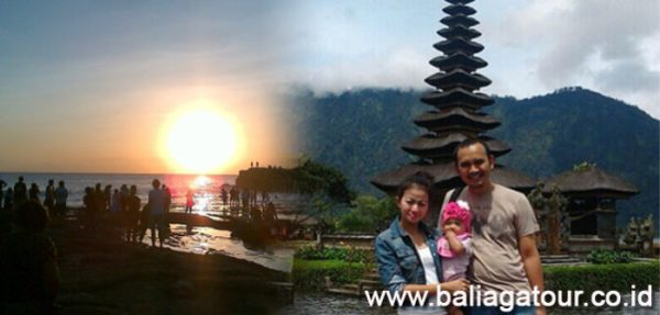 Bedugul dan Pura Tanah Lot Sunset - Tour