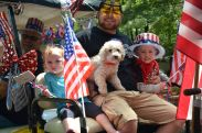 Family Picture in July 4