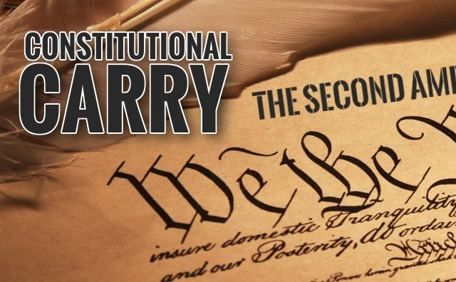 Constitutional Carry Vote In 3 Days!