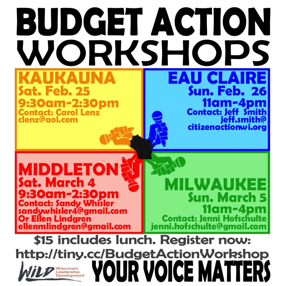 Budget Workshop STATEWIDE GRAPHIC
