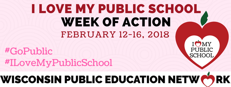 COVER I love my public school Week of Action
