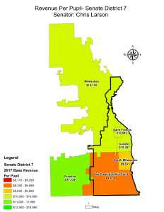 Wisconsin State map-secondary boundaries-8