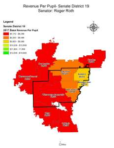 Wisconsin State map-secondary boundaries-22