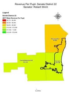 Wisconsin State map-secondary boundaries-26