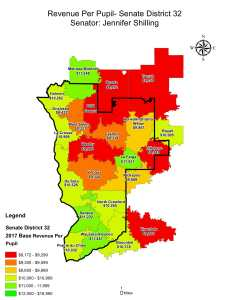 Wisconsin State map-secondary boundaries-36