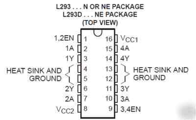 Image Result For Datasheet L293d Arduino