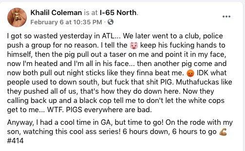 Khalil Coleman Arrest