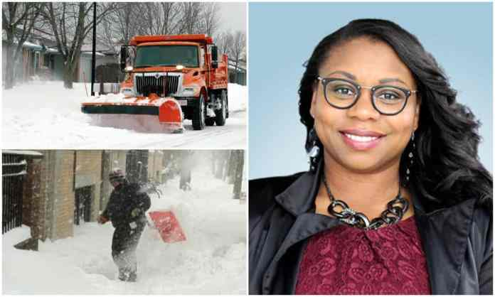 Milwaukee Alderwoman Wants City to Pay Residents to Shovel Plowed In Driveways