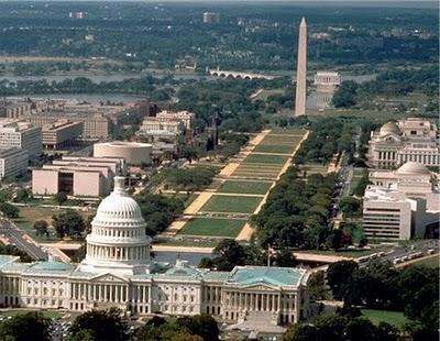 Washington Monument and U.S. Capital Bldg.