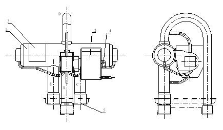 4-way valve, convert valve, conversion valve, air