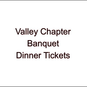 Appleton/Valley Chapter Banquet