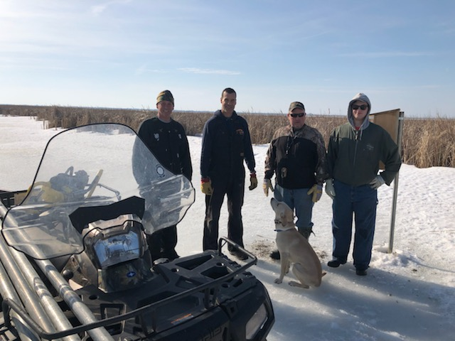 Valley Wood Duck Box Install March 2020.4