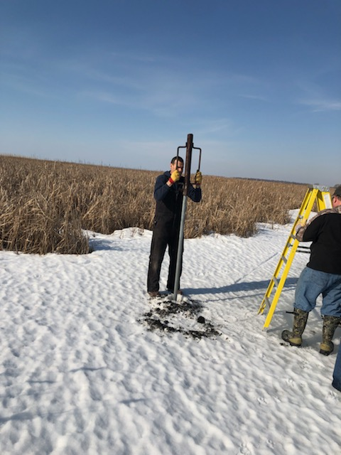 Valley Wood Duck Box Install March 2020.6