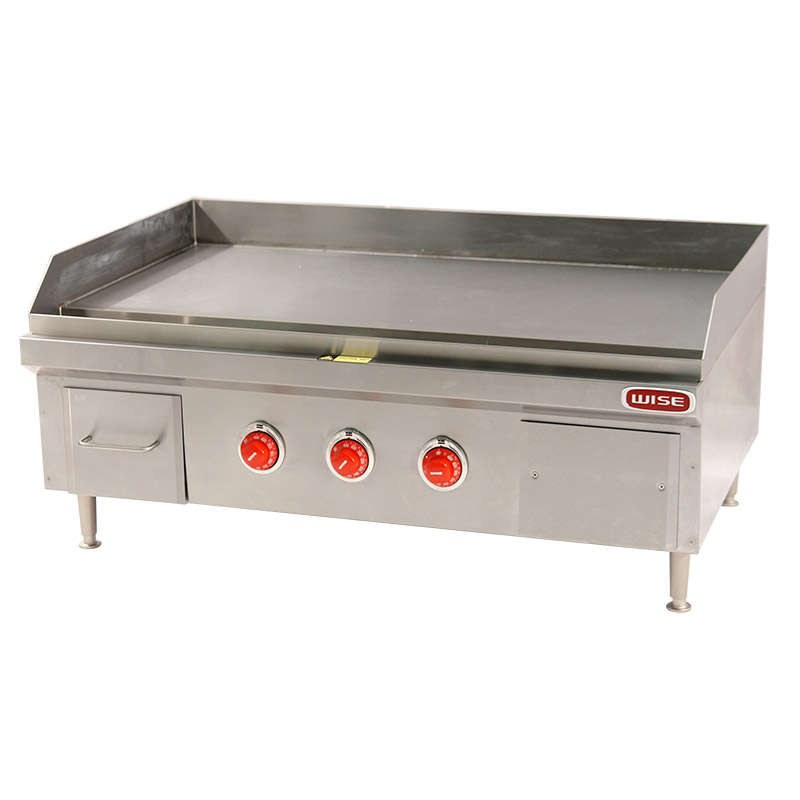 36 Inch HeavyDuty Electric Countertop Griddle 12KW  Wise
