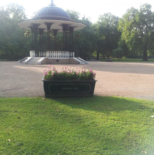 Southwark Park Band Stand
