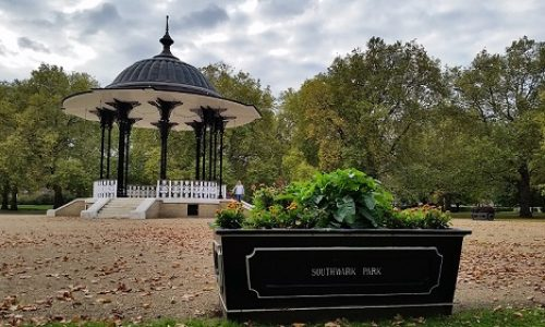 A visit to Ada Salter Garden in Southwark Park – Video
