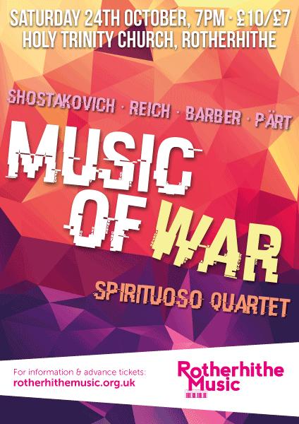 Music Of War, Spirituoso Quartet