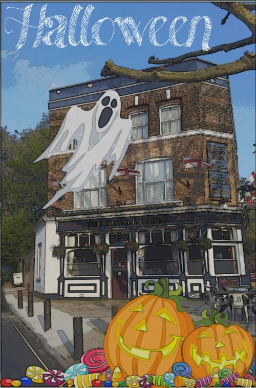 Halloween at The Stanley Arms pub