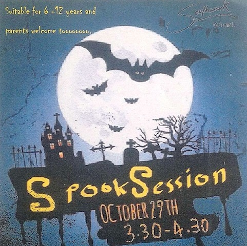 Spook Session Canada Water Library
