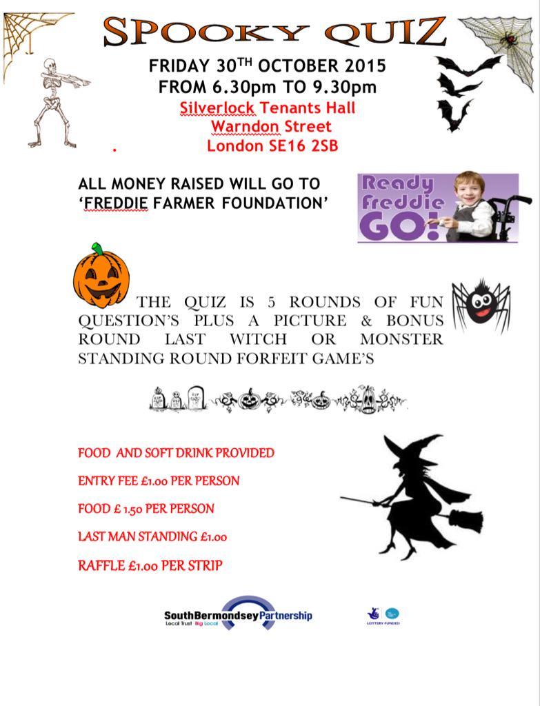 Community Event Spooky Quiz