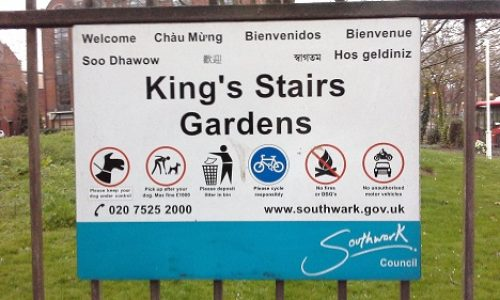 King's Stairs Gardens
