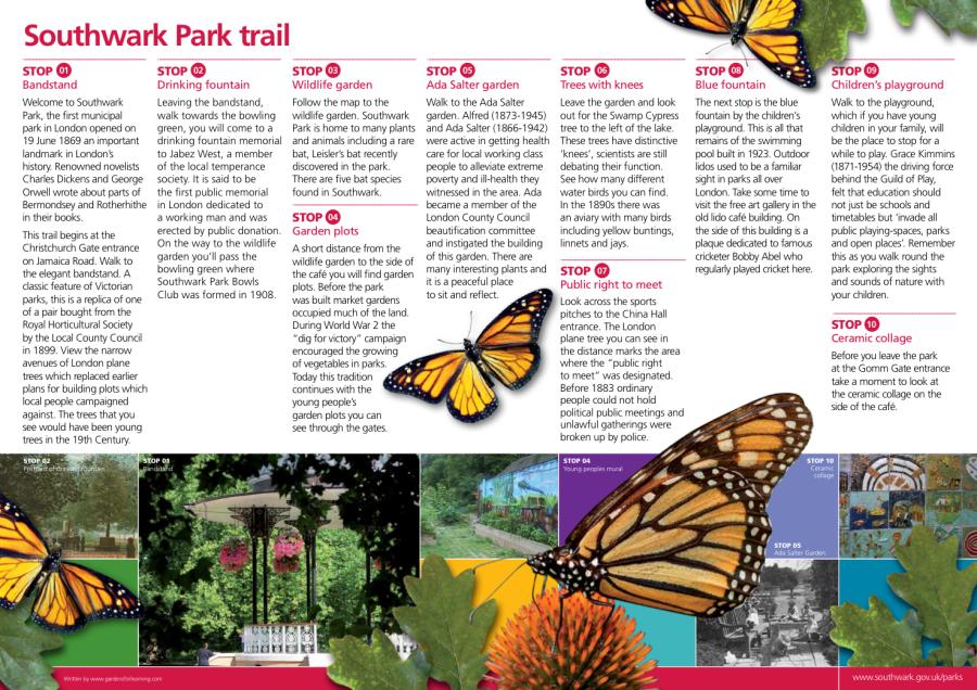 Southwark Park Trail 2