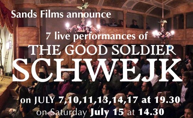 The Good Soldier Schwejk performance