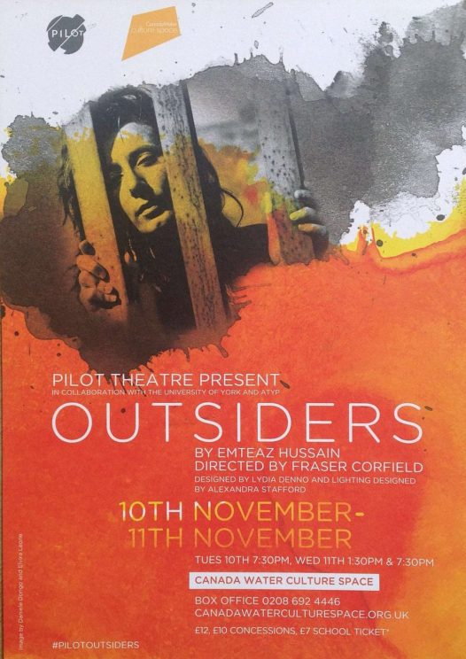 Outsiders at Canada Water Culture Place