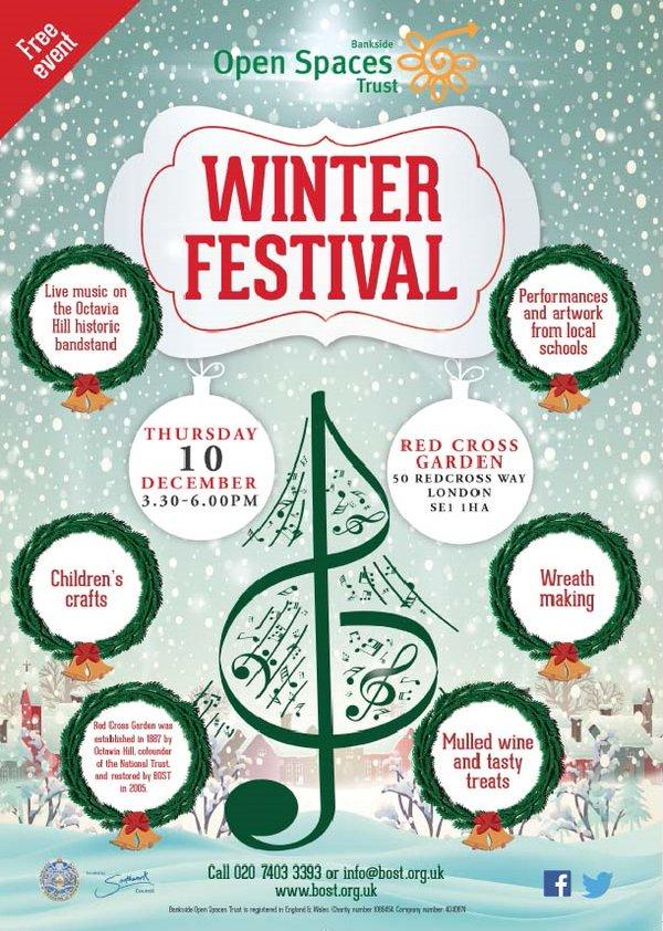 Bankside Open Spaces Winter Festival