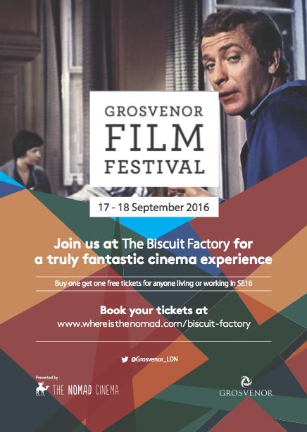 Film Festival weekend flyer