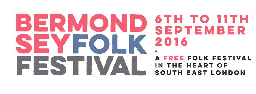 Bermondsey Folk Festival 2016 Facebook Banner