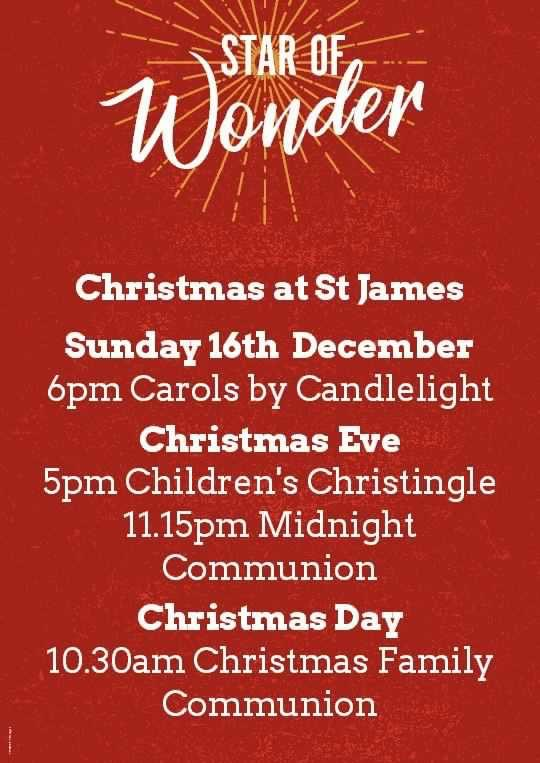 Star of wonder, Carols by candlelight