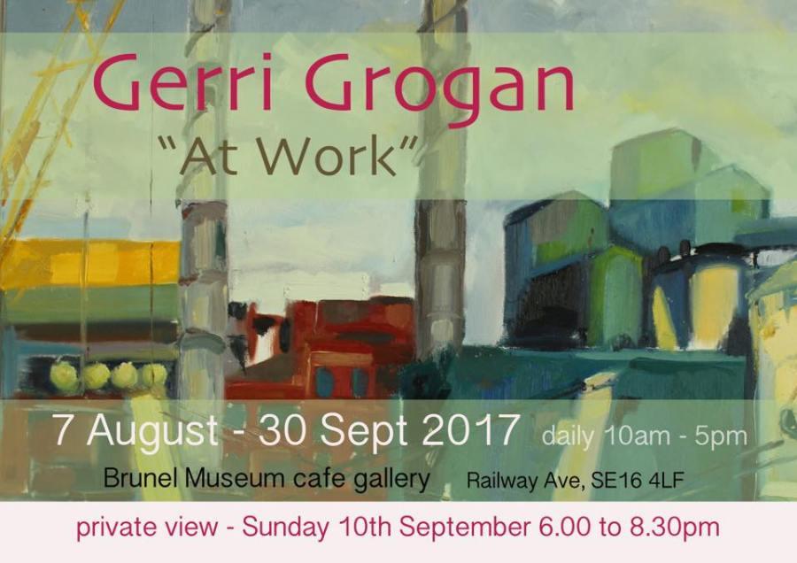 Brunel Museum Cafe Gallery Gerri Grogan exhibition
