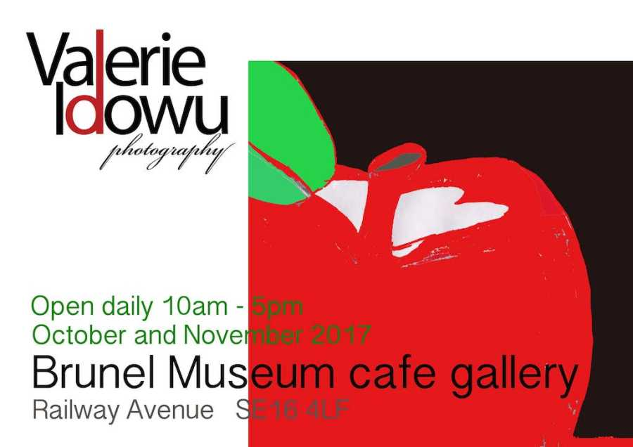 Valerie Idowu at the Cafe Gallery