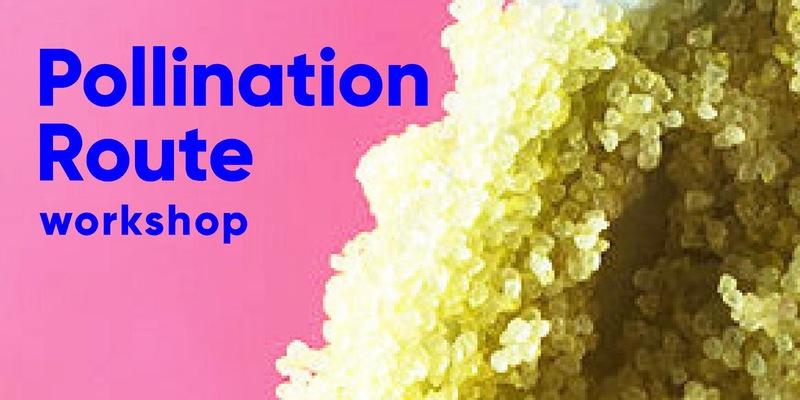Pollination Route Workshop at Diaspore Art SpacePollination Route Workshop at Diaspore Art Space