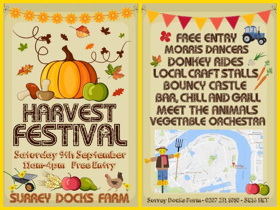 Surrey Docks Farm Harvest Festival 2017