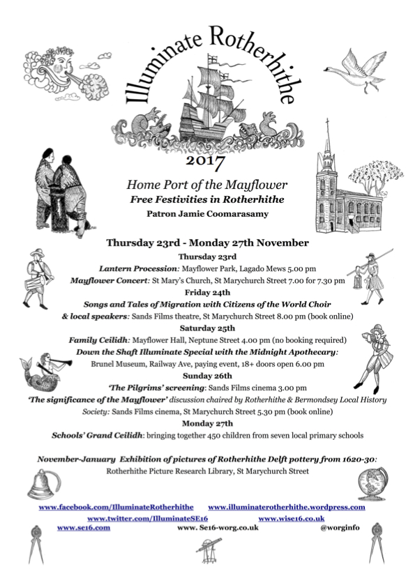 Iluminate Rotherhithe 2017 Official Programme