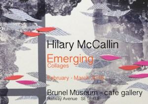 Brunel Museun Cafe Gallery presents Emerging by Hillary McCallin